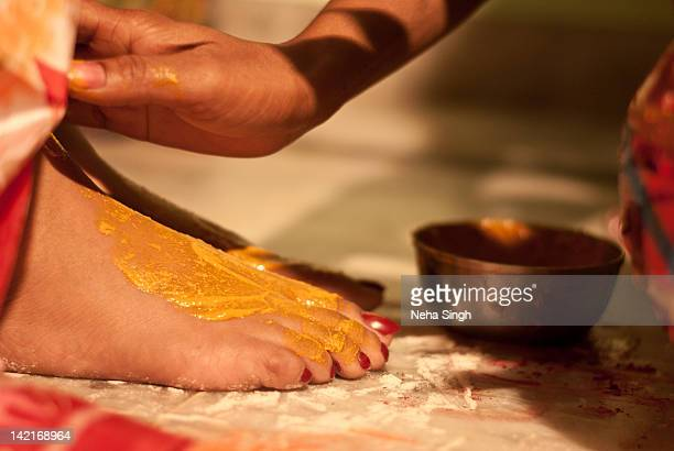 Haldi Ceremony at an Indian Wedding