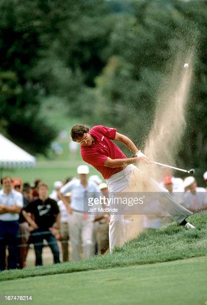 Hale Irwin during the 67th PGA Championship held at Cherry Hills Country Club in Englewood Colorado August 811 1985