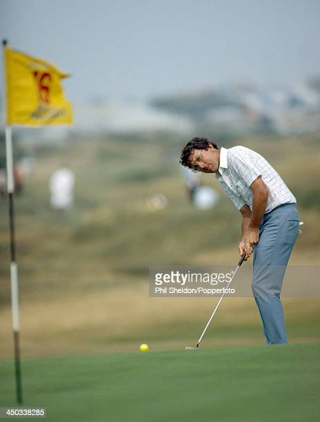 Hale Irwin of the United States in action during the British Open Golf Championship held at the Royal Birkdale Golf Club in Southport, circa July...