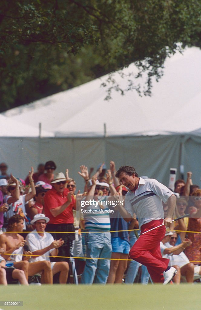Hale Irwin at the 1990 U.S Open © Getty Images