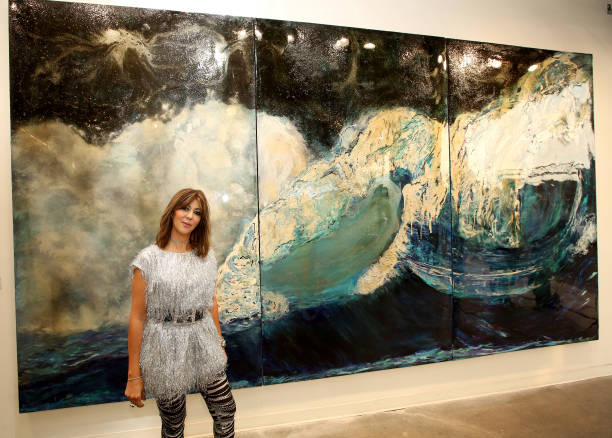 CA: Sacred Waters By Haleh Mashian Red Carpet Opening At Mash Gallery Los Angeles Supporting St Jude Children's Hospital