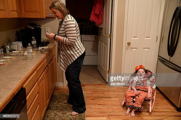 October 07: Haleigh is not doing well. She has a cold and is having a hard time breathing. Her mother, Janéa Cox, director of the Flowering H.O.P.E....
