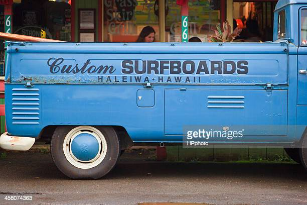 haleiwa surfboards - haleiwa stock photos and pictures
