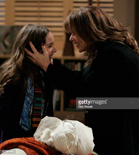 HOSPITAL Haley Alexis Pullos and Nancy Lee Grahn in a scene that airs the week of March 8 2010 on ABC Daytime's 'General Hospital' 'General Hospital'...