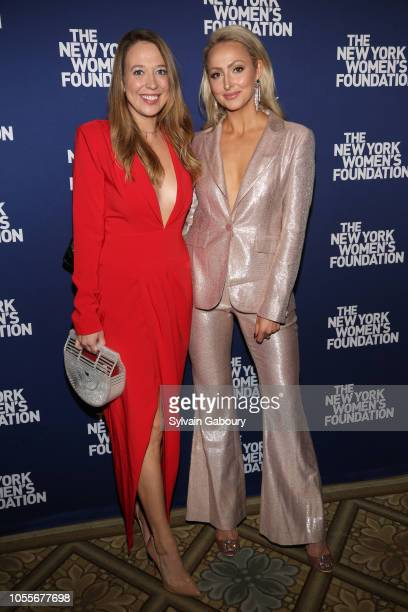 Haley Aries and Katharine Mawman attend The New York Women's Foundation Radical Generosity Gala at The Plaza on October 15 2018 in New York City