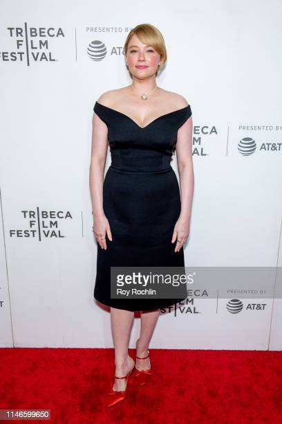 Haley Bennett attends Awards Night 2019 Tribeca Film Festival at BMCC Tribeca PAC on May 02 2019 in New York City