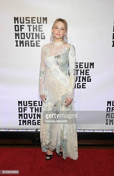 Haley Bennett attends Museum Of The Moving Image 30th Annual Salute honoring Warren Beatty at 583 Park Avenue on November 2 2016 in New York City