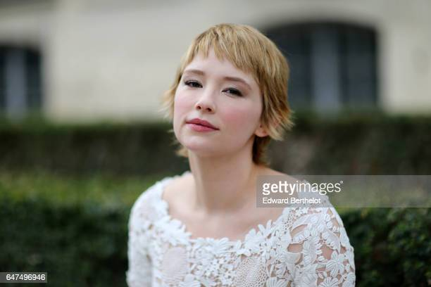 Haley Bennett attends the Christian Dior show as part of the Paris Fashion Week Womenswear Fall/Winter 2017/2018 on March 3 2017 in Paris France