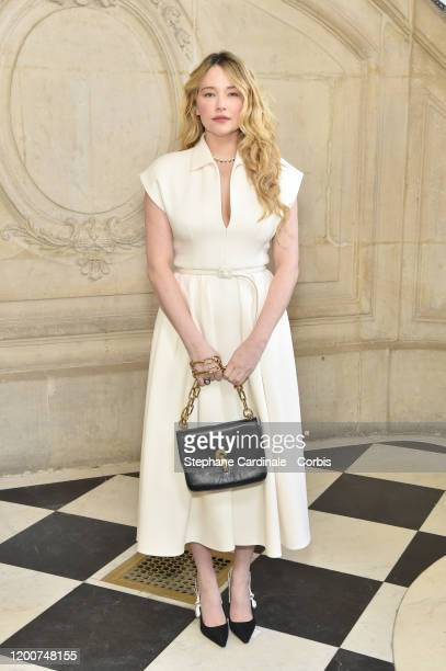 Haley Bennett attends the Dior Haute Couture Spring/Summer 2020 show as part of Paris Fashion Week on January 20, 2020 in Paris, France.