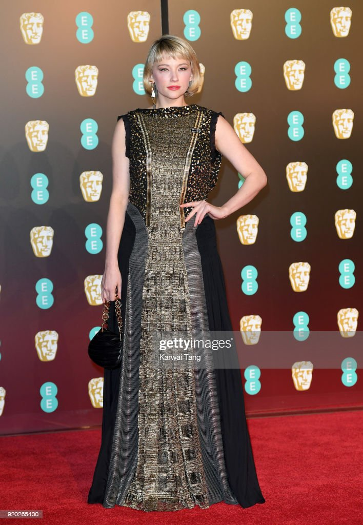 Haley Bennett attends the EE British Academy Film Awards (BAFTAs) held at the Royal Albert Hall on February 18, 2018 in London, England.