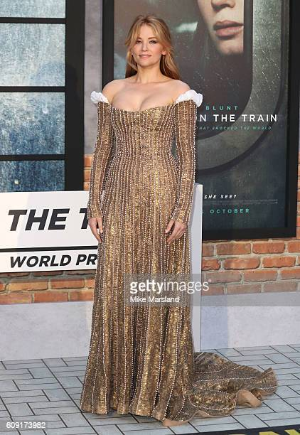 Haley Bennett attends 'The Girl On The Train' world premiere at Odeon Leicester Square on September 20 2016 in London England