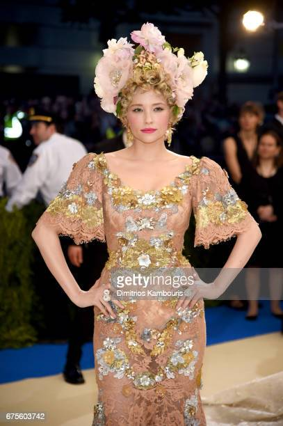 """Haley Bennett attends the """"Rei Kawakubo/Comme des Garcons: Art Of The In-Between"""" Costume Institute Gala at Metropolitan Museum of Art on May 1, 2017..."""