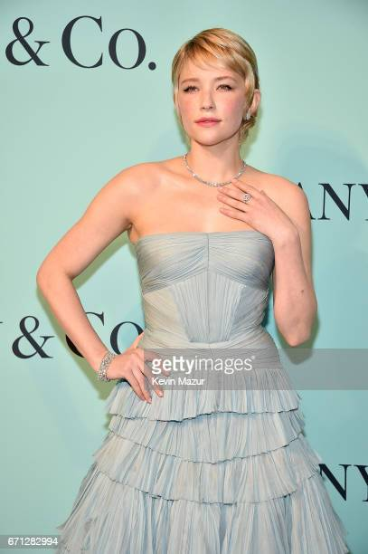 Haley Bennett attends Tiffany Co Celebrates The 2017 Blue Book Collection at ST Ann's Warehouse on April 21 2017 in New York City