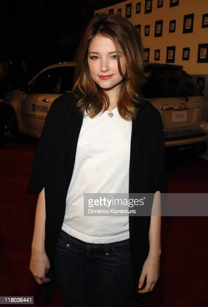 Haley Bennett during 6th Annual GM Ten Red Carpet at Paramount Studios in Los Angeles California United States