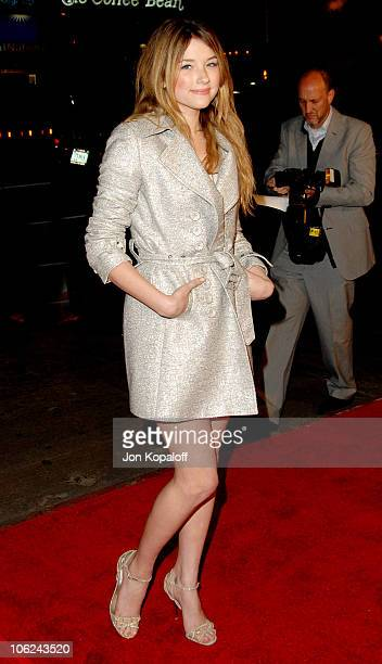 """Haley Bennett during """"Blood Diamond"""" Los Angeles Premiere - Arrivals at Grauman's Chinese Theater in Hollywood, California, United States."""