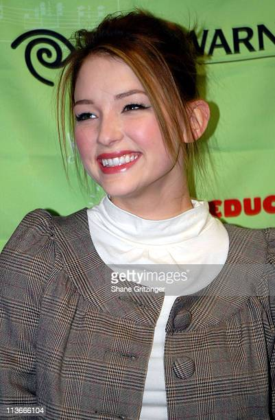 Haley Bennett during Marc Lawrence and Haley Bennett Present $50000 Donation To The VH1 Save The Music Foundation at Anderson School / PS 334 in New...