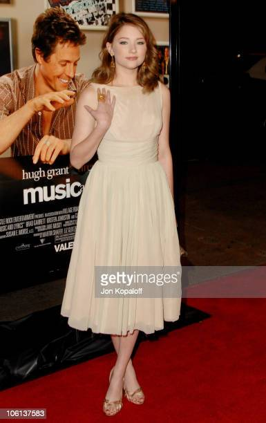 Haley Bennett during 'Music and Lyrics' Los Angeles Premiere Arrivals at Grauman's Chinese Theatre in Hollywood California United States