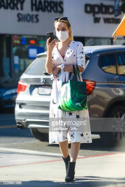 Haley Bennett is seen on November 19 2020 in Los Angeles California