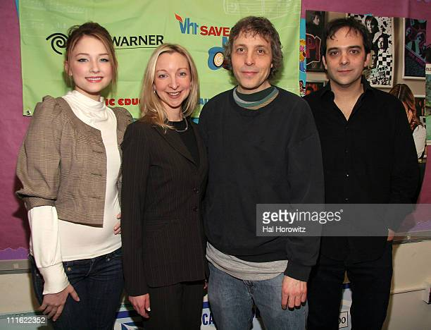 Haley Bennett Lauri Schopp Marc Lawrence and Adam Schlesinger