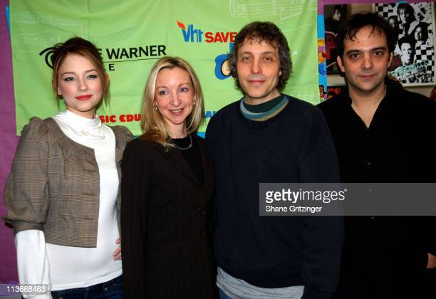 Haley Bennett Laurie Schopp Marc Lawrence and Adam Schlesinger