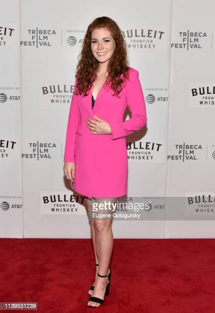 Haley Finnegan attends the Westfalia Premiere 2019 Tribeca Film Festival at Regal Cinema Battery Park on April 26 2019 in New York City