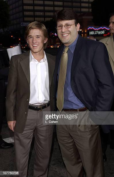 Haley Joel Osment and Executive Producer Mark Kauffman