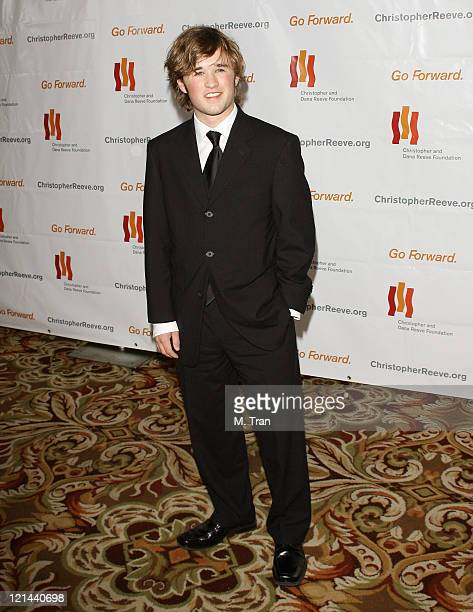 Haley Joel Osment during 3rd Annual Los Angeles Gala for the Christopher and Dana Reeve Foundation at Century Plaza Hotel in Century City,...