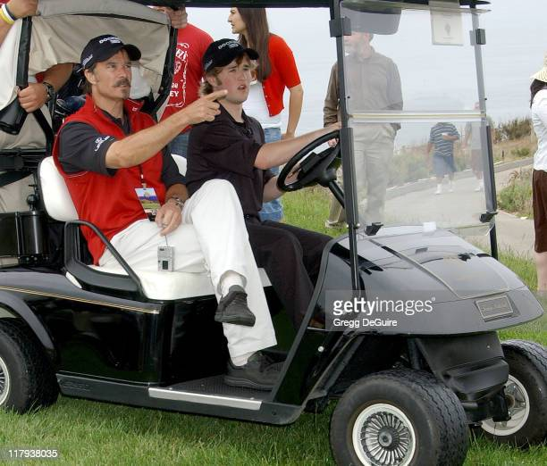 Haley Joel Osment during 9th Annual Michael Douglas Friends Celebrity Golf Event at Trump National Golf Club in Rancho Palos Verdes California United...