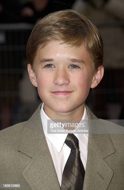 Haley Joel Osment during Deauville 2001 The AI Artificial Intelligence Premiere at Centre International Deauville CID in Deauville France