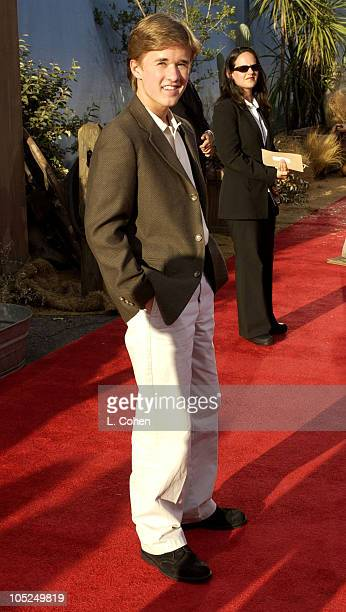 Haley Joel Osment during Open Range Premiere Red Carpet at Arclight Cinerama Dome in Los Angeles California United States
