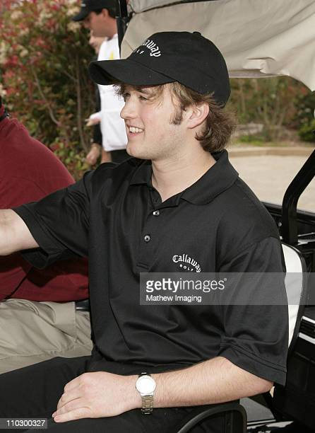 Haley Joel Osment during The Ninth Annual Michael Douglas and Friends Celebrity Golf Tournament at Trump National Golf Club in Rancho Palos Verdes...