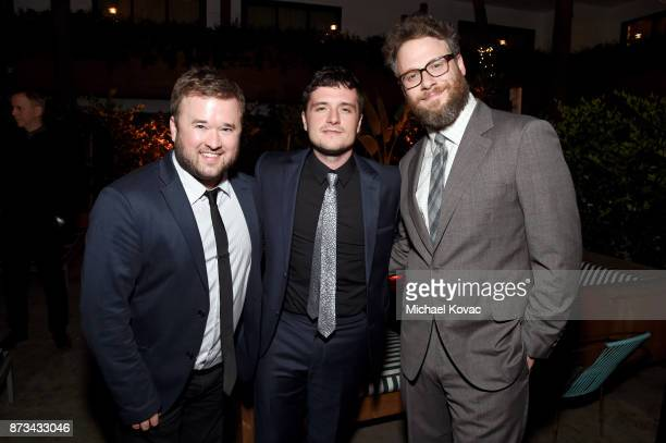 Haley Joel Osment Josh Hutcherson and Seth Rogen attend the after party for the screening of The Disaster Artist at AFI FEST 2017 Presented By Audi...