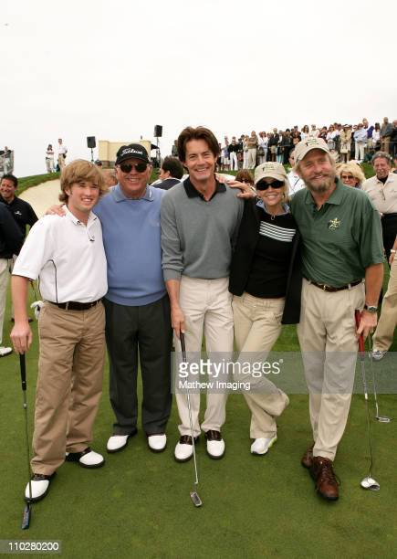 Haley Joel Osment Kyle MacLachlan Heather Locklear and Michael Douglas *EXCLUSIVE*