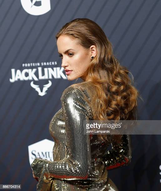 Haley Kalil attends 2017 Sports Illustrated Sportsperson of the Year Awards at Barclays Center on December 5 2017 in New York City