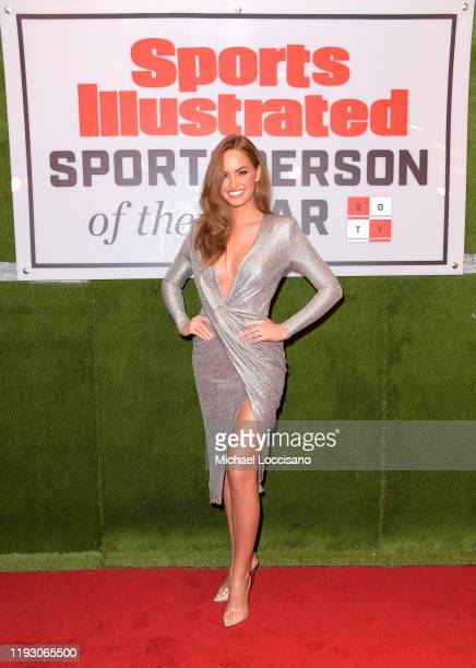Haley Kalil attends the 2019 Sports Illustrated Sportsperson Of The Year at The Ziegfeld Ballroom on December 09 2019 in New York City