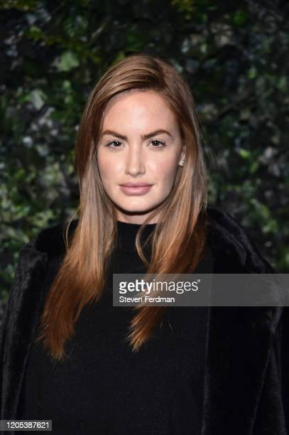 Haley Kalil attends the Alice Olivia By Stacey Bendet fashion show during February 2020 New York Fashion Week The Shows on February 10 2020 in New...