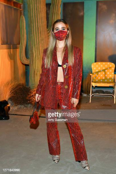 Haley Lu Richardson attends the HBO Max DriveIn Premiere of Unpregnant on September 9 2020 in Glendale California