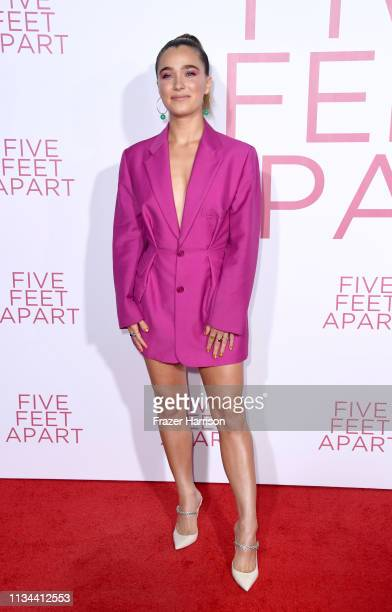 Haley Lu Richardson attends the Premiere Of Lionsgate's Five Feet Apart at Fox Bruin Theatre on March 07 2019 in Los Angeles California