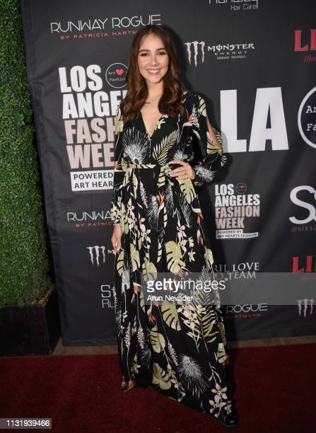 Haley Pullos at Los Angeles Fashion Week FW/19 Powered by Art Hearts Fashion at The Majestic Downtown on March 21 2019 in Los Angeles California