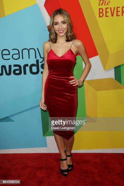 Haley Pullos attends the 7th Annual 2017 Streamy Awards at The Beverly Hilton Hotel on September 26 2017 in Beverly Hills California