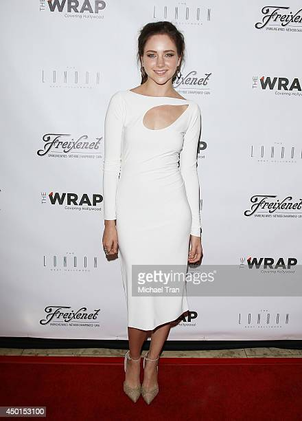 Haley Ramm arrives at TheWrap's First Annual Emmy Party held at The London West Hollywood on June 5 2014 in West Hollywood California