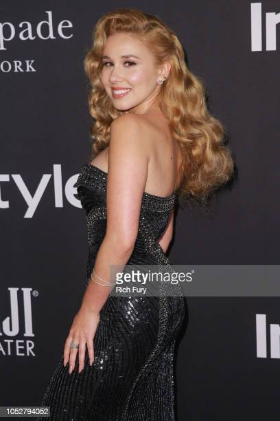 Haley Reinhart attends the 2018 InStyle Awards at The Getty Center on October 22 2018 in Los Angeles California