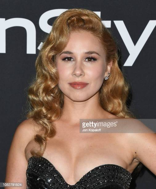 Haley Reinhart attends the 4th Annual InStyle Awards at The Getty Center on October 22 2018 in Los Angeles California