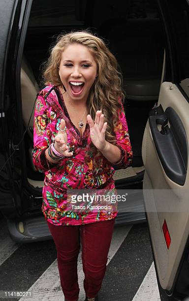 Haley Reinhart attends the homecoming for American Idol Season 10 finalist Haley Reinhart on May 14 2011 in Wheeling Illinois