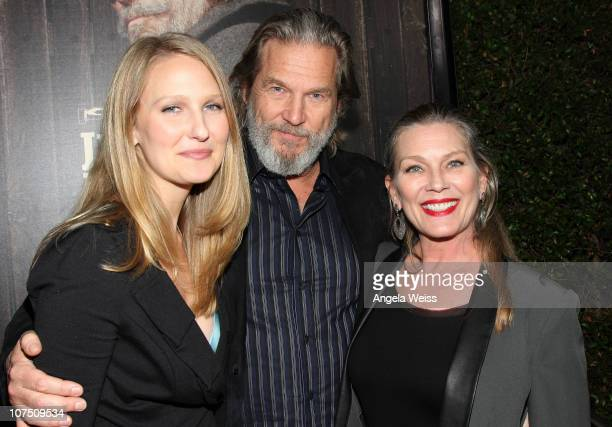 Haley Roselouise Bridges Jeff Bridges and Susan Bridges arrive at the screening of Paramount Pictures' 'True Grit' at the Academy of Motion Picture...