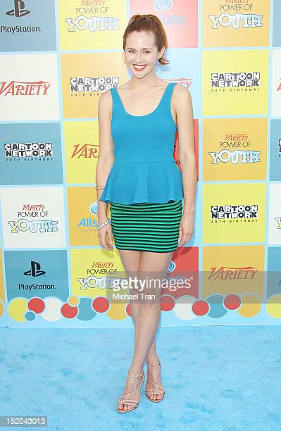 Haley Strode arrives at the Variety Power of Youth event held at Paramount Studios on September 15, 2012 in Hollywood, California.