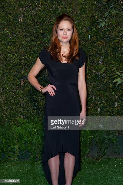 Haley Strode attends the LoveGold party at Chateau Marmont on January 12, 2013 in Los Angeles, California.
