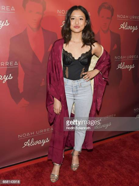 Haley Tju attends Noah Urrea's 16th Birthday with EP Release Party at Avalon Hollywood on March 26 2017 in Los Angeles California