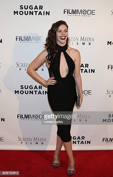 Haley Webb arrives at the Premiere of Screen Media Films' Sugar Mountain at the Vista Theatre on December 8 2016 in Los Angeles California
