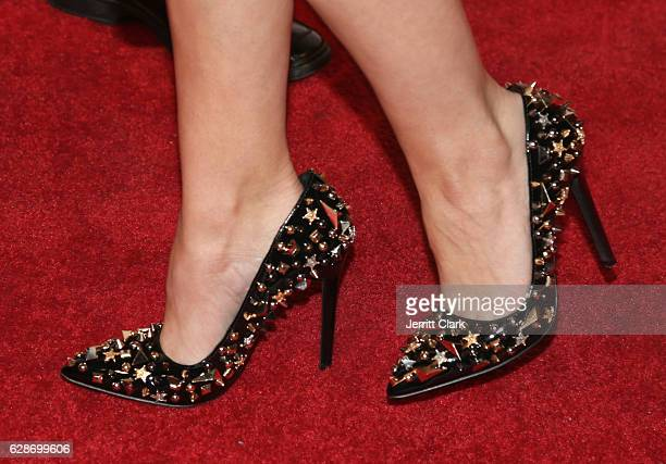 Haley Webb shoe detail at the Premiere Of Screen Media Films' Sugar Mountain at the Vista Theatre on December 8 2016 in Los Angeles California